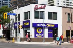 Olivia Chow kwatery główne - Toronto Obrazy Stock