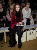 Olivia Grant. At Temperley, on day two of London Fashion Week, 18/02/2012 Picture by: Simon Burchell / Featureflash Royalty Free Stock Photo