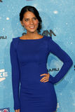 Olivia munn. Arriving at the  Scream Awards 2009 Greek Theater Los Angeles,  CA October 17, 2009 Royalty Free Stock Photos