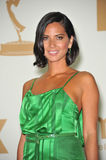 Olivia munn. In the press room at the 2011 Primetime Emmy Awards at the Nokia Theatre L.A. Live in downtown Los Angeles. September 18, 2011 Los Angeles, CA Royalty Free Stock Images