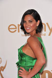 Olivia munn. Arriving at the 2011 Primetime Emmy Awards at the Nokia Theatre, L.A. Live in downtown Los Angeles. September 18, 2011 Los Angeles, CA Picture Stock Photo