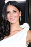 Olivia Munn arrives at HBO's  Royalty Free Stock Photos