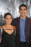 Olivia Munn & Dev Patel Stock Photos