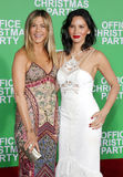 Olivia Munn and Jennifer Aniston Royalty Free Stock Photos