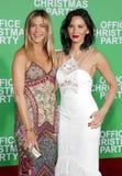 Olivia Munn y Jennifer Aniston Fotos de archivo libres de regalías