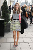 Olivia Palermo. Arrives at the Temperley show as part of London Fashion Week AW13, Dorchester Hotel, London. 17/02/2013 Picture by: Steve Vas / Featureflash Stock Photo