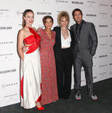 Olivia Wilde, Reed Morano, Juno Temple, Luke Wilson. NEW YORK-OCT 11: (L-R) Actors Olivia Wilde, director Reed Morano, Juno Temple and Luke Wilson attend the Royalty Free Stock Photo
