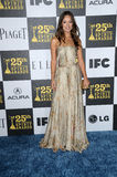 Olivia Wilde. At the 25th Film Independent Spirit Awards, Nokia Theatre L.A. Live, Los Angeles, CA. 03-06-10 Stock Images