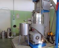 Olivie Schmierölfabrik in Italien Lizenzfreie Stockbilder
