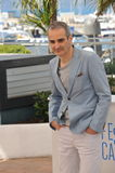 Olivier Assayas. CANNES, FRANCE - MAY 23, 2014: Director Olivier Assayas at photocall for his movie Clouds of Sils Maria at the 67th Festival de Cannes Royalty Free Stock Photo