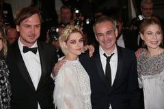 Olivier Assayas, Kristen Stewart, Lars Eidinger Royalty Free Stock Images