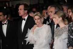 Olivier Assayas, Kristen Stewart, Lars Eidinger Royalty Free Stock Photography