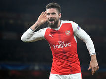Olivier Giroud royalty free stock photos