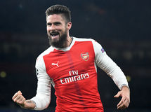 Olivier Giroud royalty free stock photography