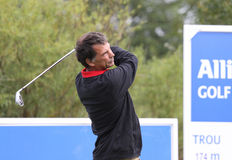 Olivier Rougeot at the Golf Open de Paris 2009 Stock Photo