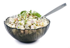 Olivier. salad Royalty Free Stock Image