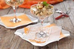 Olivier salad Stock Image
