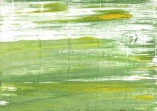 Olivine akwareli abstrakcjonistyczny tło Obrazy Stock