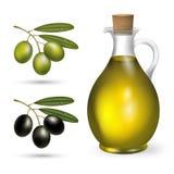 Olivolja Arkivfoto