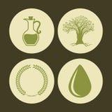 Olivoljadesign Fotografering för Bildbyråer