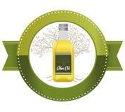 Olivoljadesign Royaltyfri Fotografi