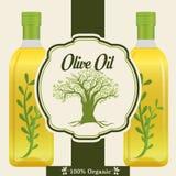 Olivoljadesign Royaltyfria Bilder