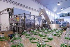 Olivoljafabrik, Olive Production Royaltyfria Foton