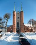 Oliwa的大教堂 免版税库存图片