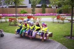 Oliwa в Гданьск, детях, детском саде стоковые фотографии rf
