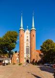 Oliwa的大教堂 免版税图库摄影