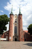 Oliwa Cathedral. Cathedral with world famous organs in Gdansk, Poland Stock Photo