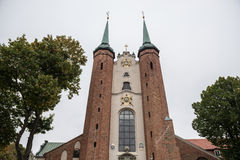 Oliwa Cathedral. The Holy Trinity, Blessed Virgin Mary and St Bernard Oliwa Archcathedral in Oliwa district - Gdansk, Poland Royalty Free Stock Image