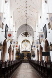 Oliwa Cathedral inside. Sopot, Poland - March 07 2016: Interior of the Oliwa Cathedral, located in Oliwa park of Gdansk Stock Photo