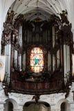 Oliwa Cathedral inside Stock Image