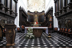 oliwa gdansk собора Стоковые Изображения RF