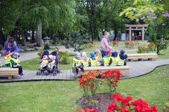 Oliwa in Gdansk, children, kindergarten stock photography