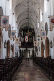 Oliwa Gdansk Old Town Church and park Stock Photography
