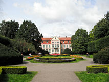 Oliwa Palace, Gdansk, Poland. View of Oliwa Palace, Gdansk, Poland Stock Photography
