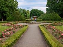 Oliwa park w Gdańskim Polska, Europa Fotografia Stock