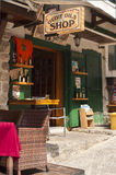 Oliwa z oliwek sklep. Montenegro zdjęcie stock