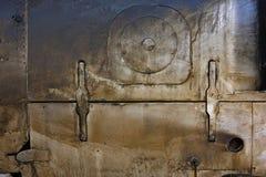 Oliwi pobrudzonego panel i dymi, grunge tekstura Fotografia Royalty Free