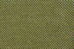 Oliwna tekstylna tekstura Obrazy Royalty Free