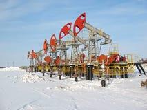 olja för 3 industri Royaltyfria Bilder