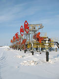 olja för 4 industri Royaltyfri Foto