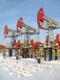 olja för 6 industri Royaltyfria Bilder