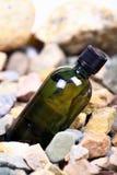olja för flaskgreen Arkivbild