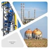 olja för gasindustri Royaltyfri Foto
