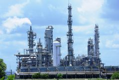 olja för gasindustrier Arkivbilder