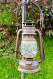 olja för gaslampa Fotografering för Bildbyråer