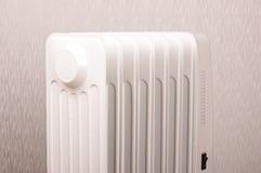 Olja-fyllt elektriskt element för extra hem- uppvärmning royaltyfria bilder